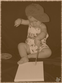 Photo: 55- Artistic Baby