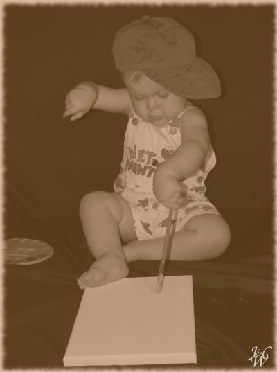 55- Artistic Baby