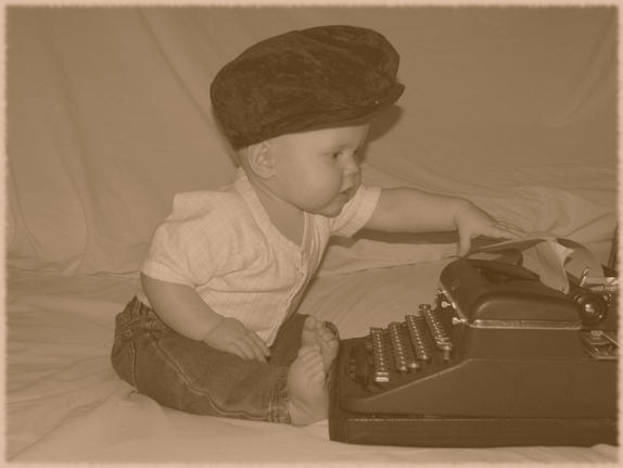 17- Baby Typing