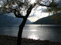Photo: Sun set on Cultus