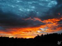 Photo: Firey Sky